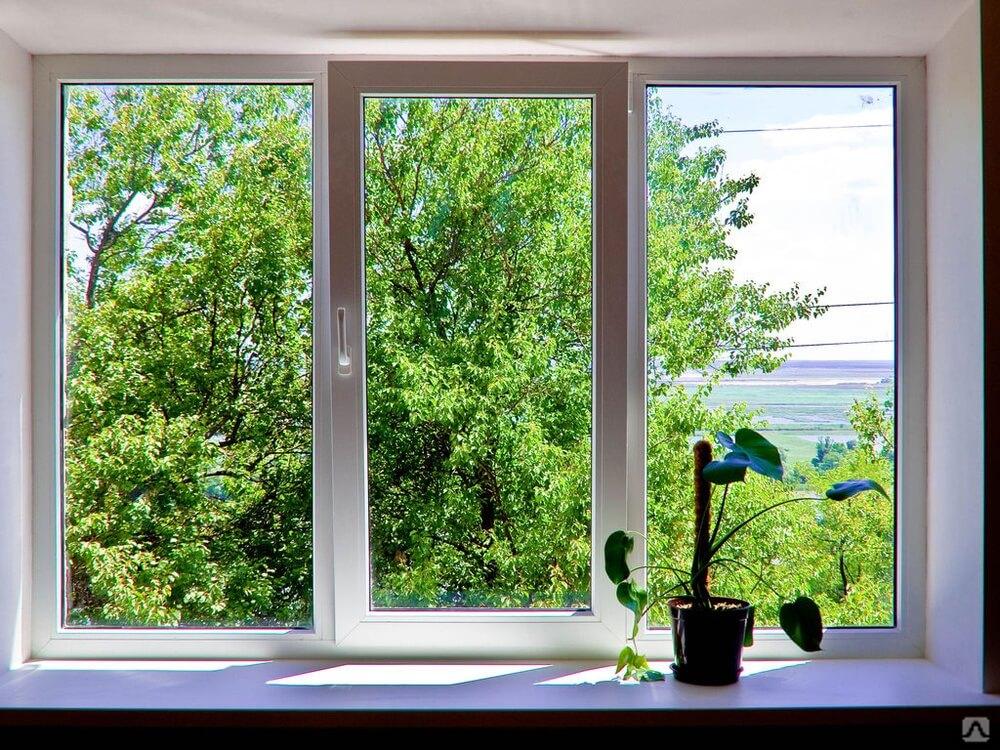 Окна из ПВХ тоже бывают красивыми