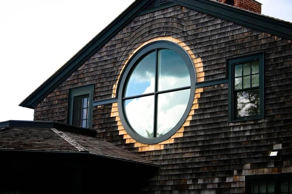 Дома с ПВХ окнами