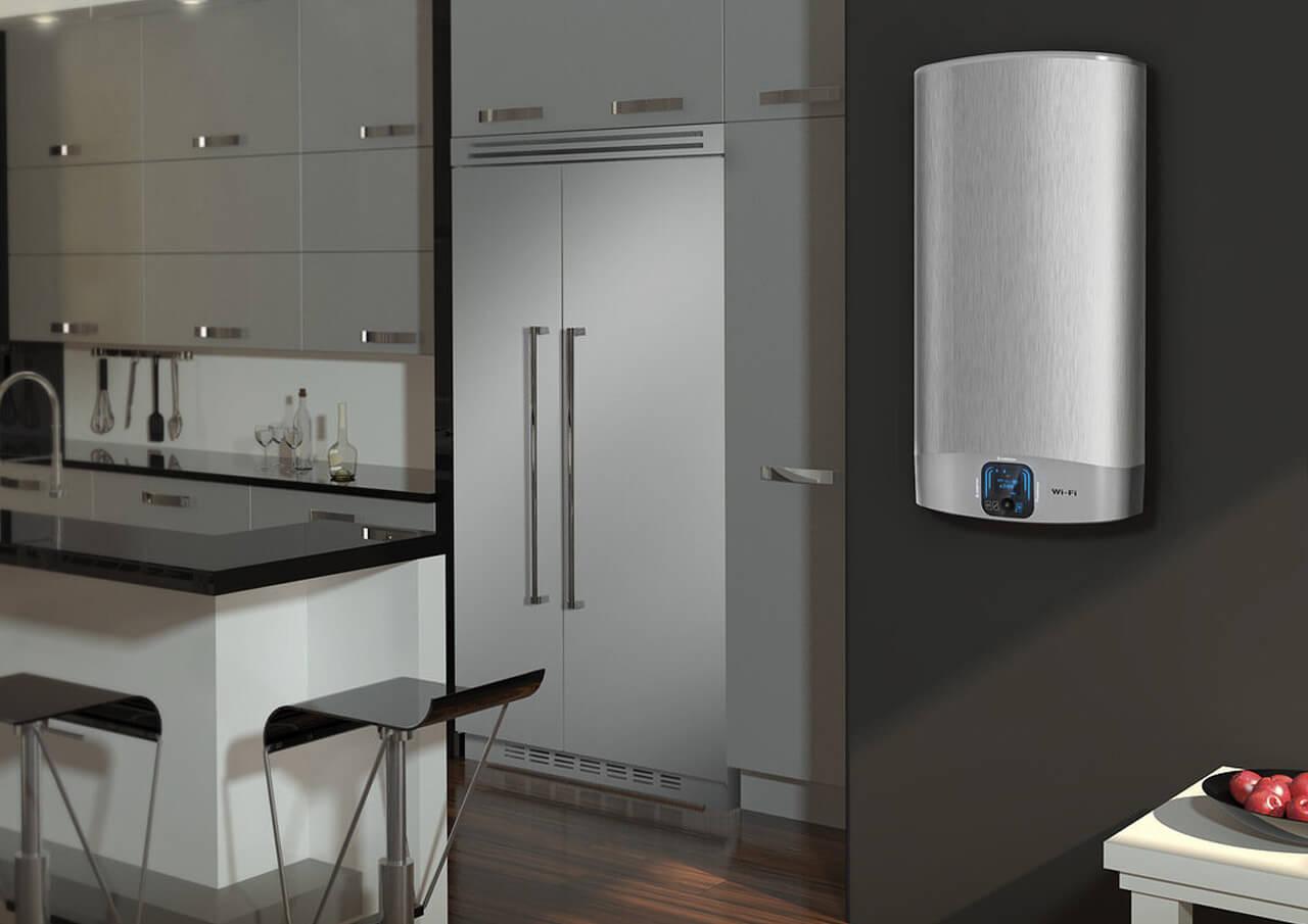 Электрический водонагреватель в интерьере фото