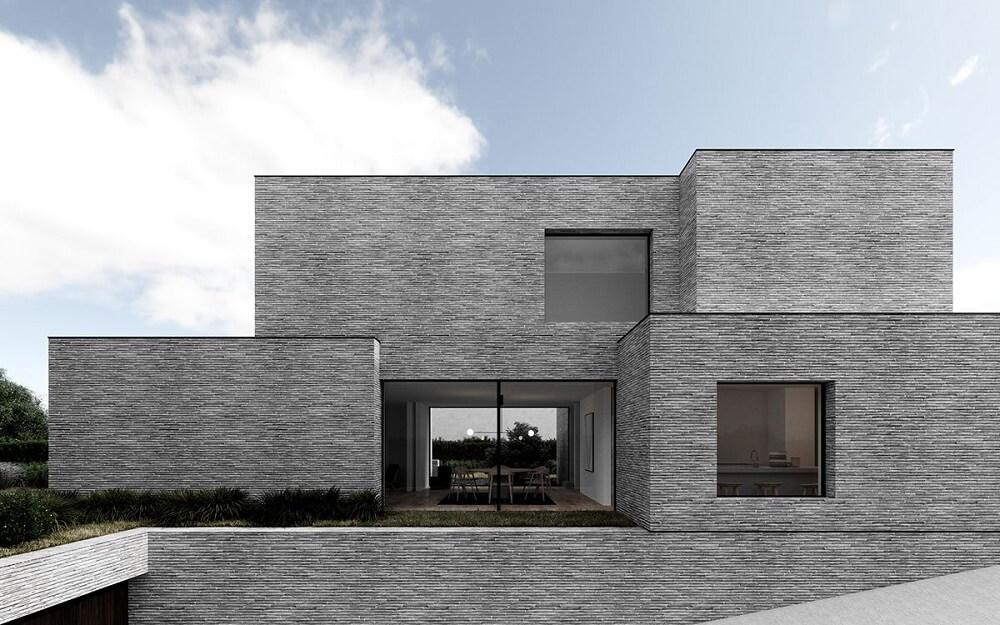 Фасад в монолитном доме